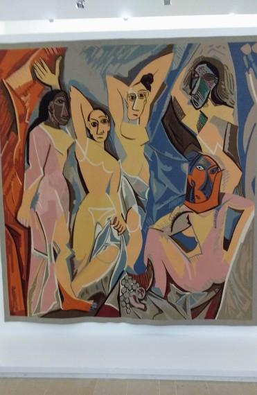 Wm of Avignon Picasso studio
